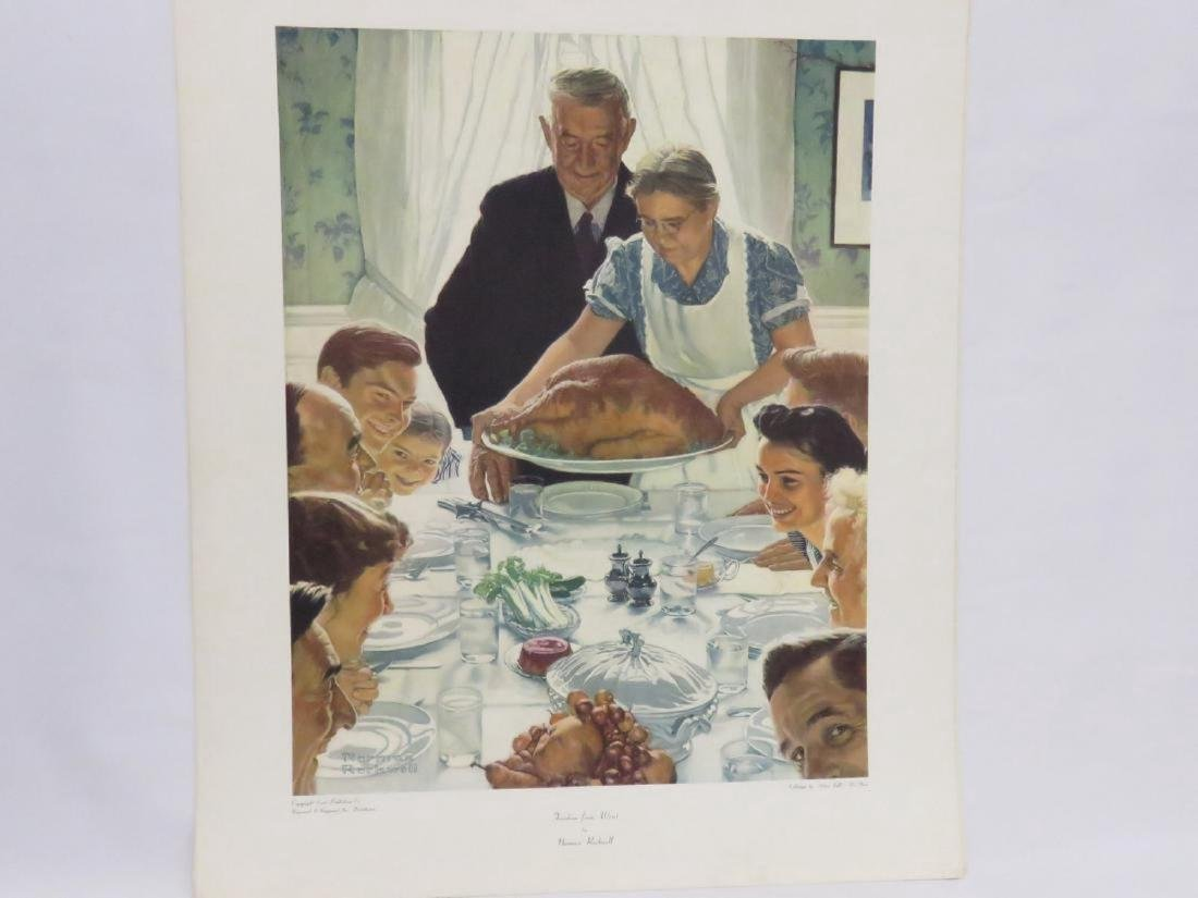 LOT (18) ASSORTED NORMAN ROCKWELL ADVERTISING PREMIUMS, - 5