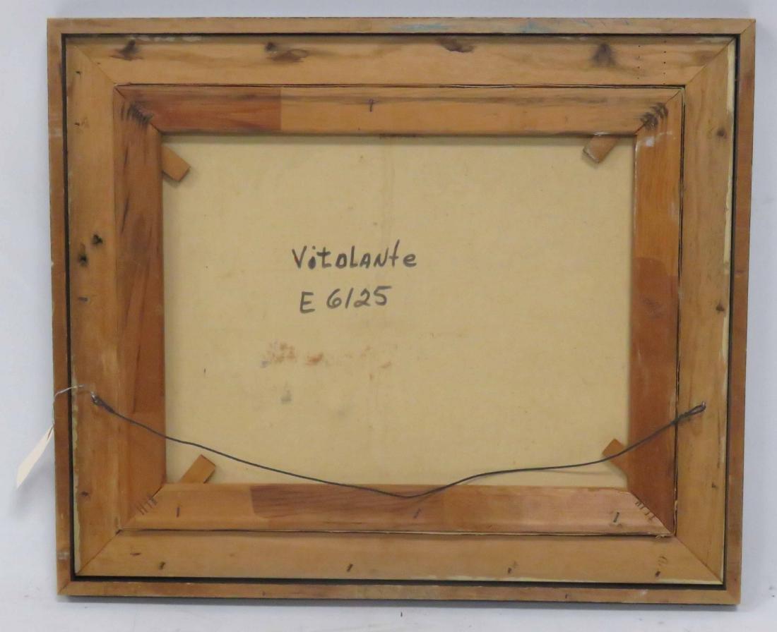 VITOLANTE Y PEZZELLA (ITALIAN 1922-1992), OIL ON - 3