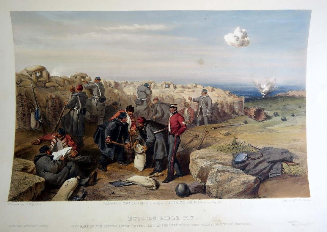 (THE CRIMEA) DAY & SONS AFTER WILLIAM SIMPSON, TINTED