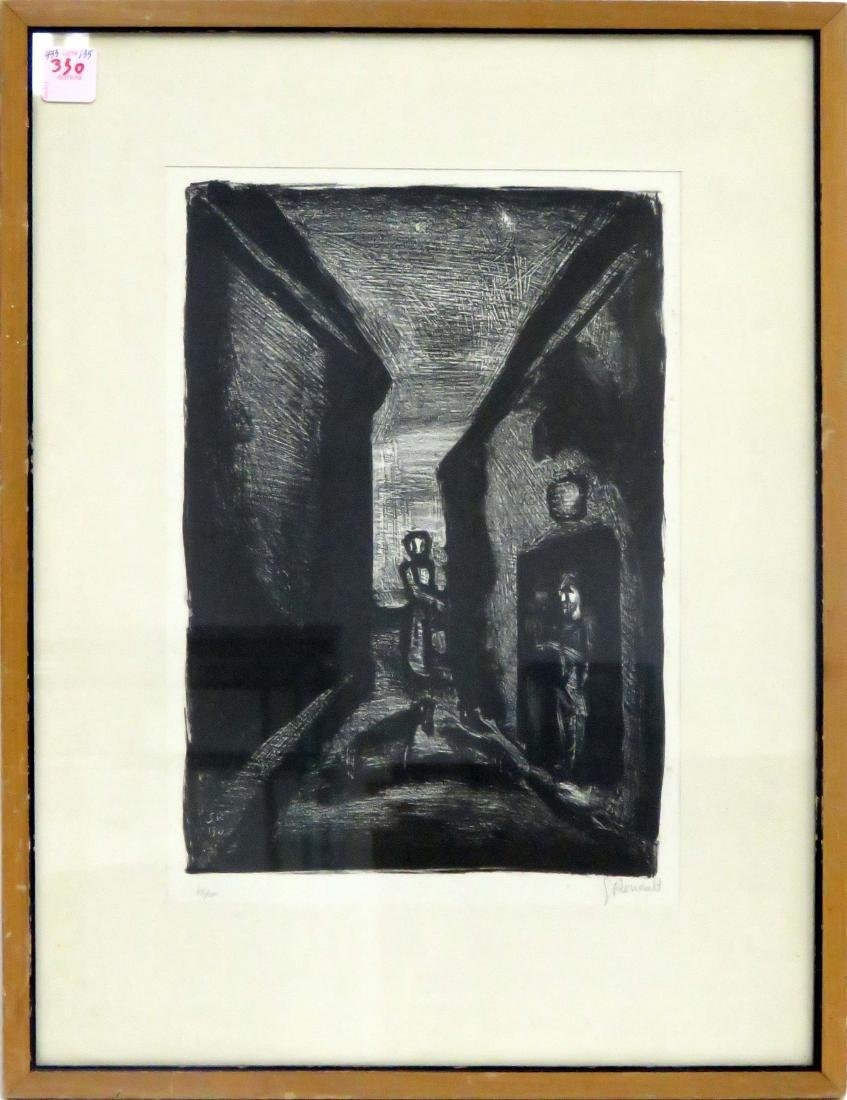 GEORGES ROUAULT (FRENCH 1871-1958), LITHOGRAPH,