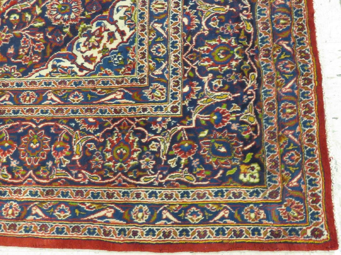 "PERSIAN KASHAN CARPET. 9'2"" X 12'2"" - 2"