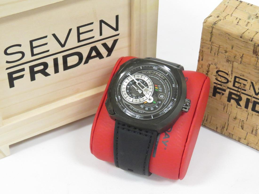 SEVENFRIDAY, Q3/01, INDUSTRIAL SERIES PVD COATED