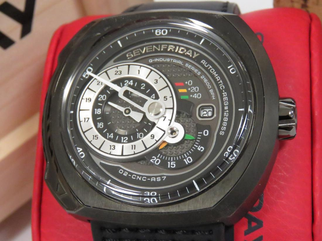 SEVENFRIDAY, Q3/01, INDUSTRIAL SERIES PVD COATED - 2