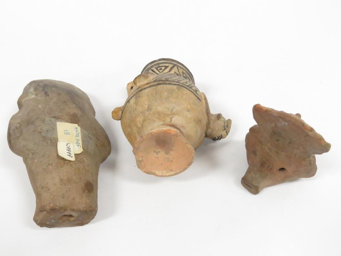 LOT MESO-AMERICAN PRE-COLUMBIAN POTTERY INCLUDING - 2