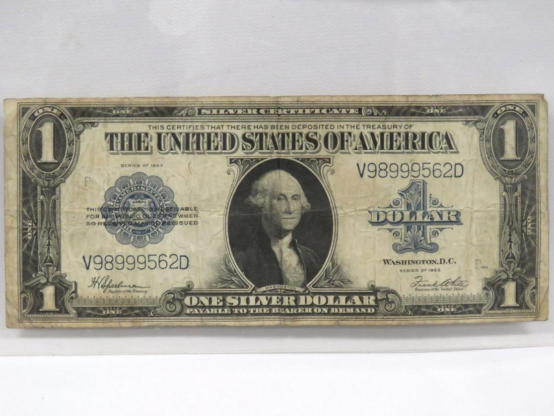 US SERIES 1923 $1.00 SILVER CERTIFICATE (LARGE), #237