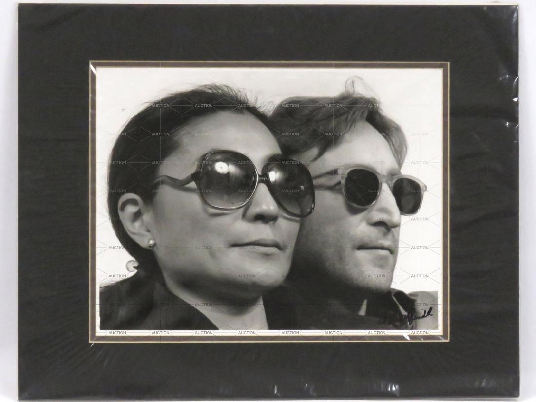 DAVID SPINDEL (AMERICAN 1941-), PHOTOGRAPH, JOHN