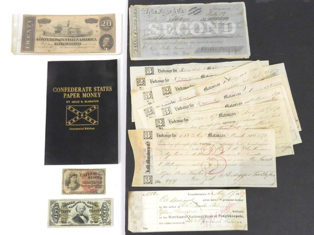 LOT INCLUDING US FRACTIONAL CURRENCY INCLUDING 3RD
