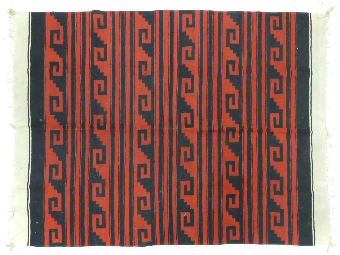 """NAVAJO GERMANTOWN RUG/WEAVING. 56 X 76"""""""