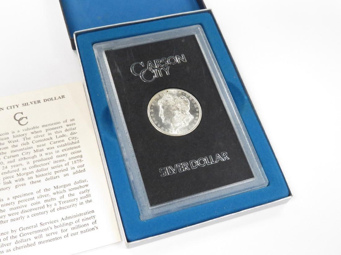 1882CC MORGAN SILVER DOLLAR COIN (UNC)