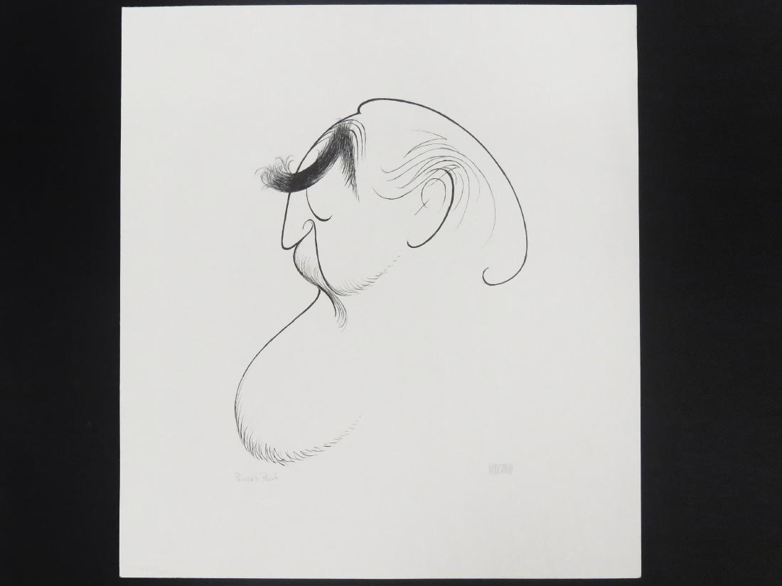 AL HIRSCHFELD (AMERICAN 1903-2006), LITHOGRAPH, SELF