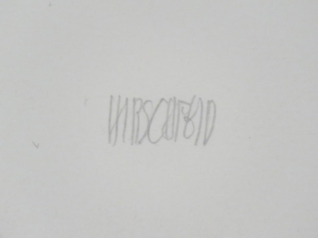 AL HIRSCHFELD (AMERICAN 1903-2006), LITHOGRAPH, SELF - 2