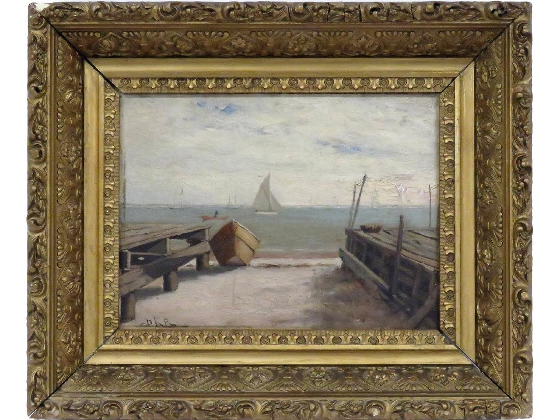 AMERICAN SCHOOL (19/20TH CENTURY), OIL ON ARTIST BOARD,