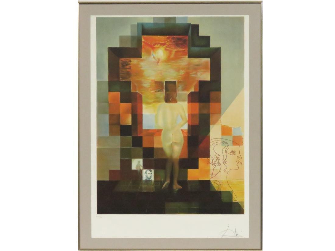 SALVADOR DALI (SPANISH 1904-1989), LITHOGRAPH, LINCOLN