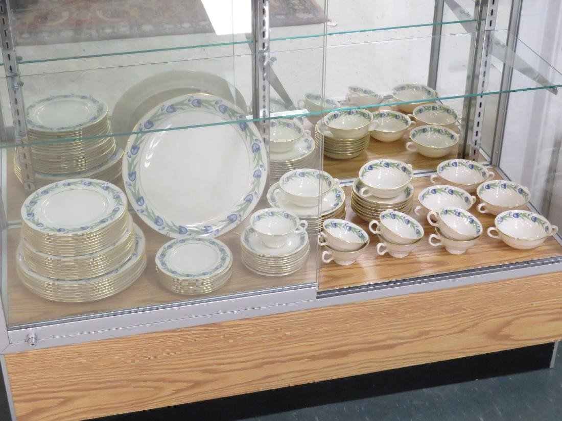 """LENOX """"NATOMA"""" DINNER SERVICE FOR (6) WITH EXTRAS - 2"""
