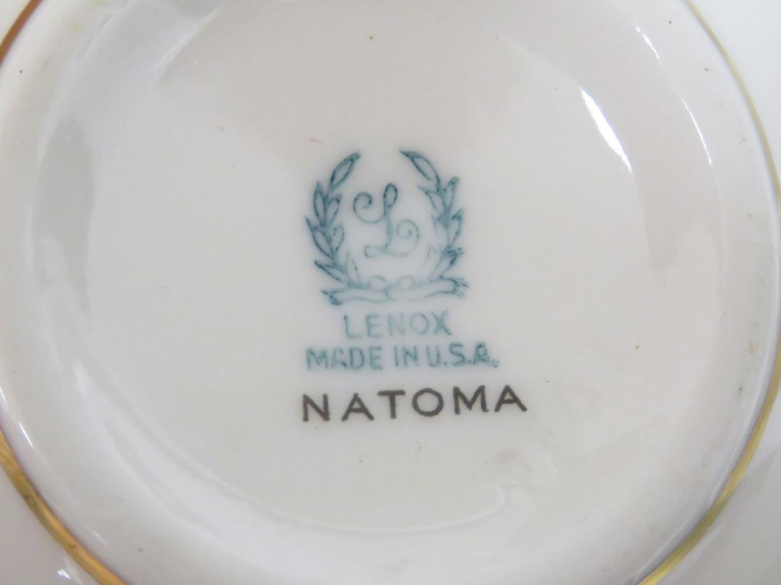 """LENOX """"NATOMA"""" DINNER SERVICE FOR (6) WITH EXTRAS - 3"""