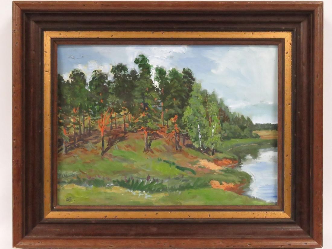 IVAN VASILIEV (RUSSIAN 20TH CENTURY), OIL ON ARTIST