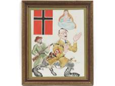 ARTHUR SZYK (POLISH/AMERICAN 1894-1951), PEN, INK AND