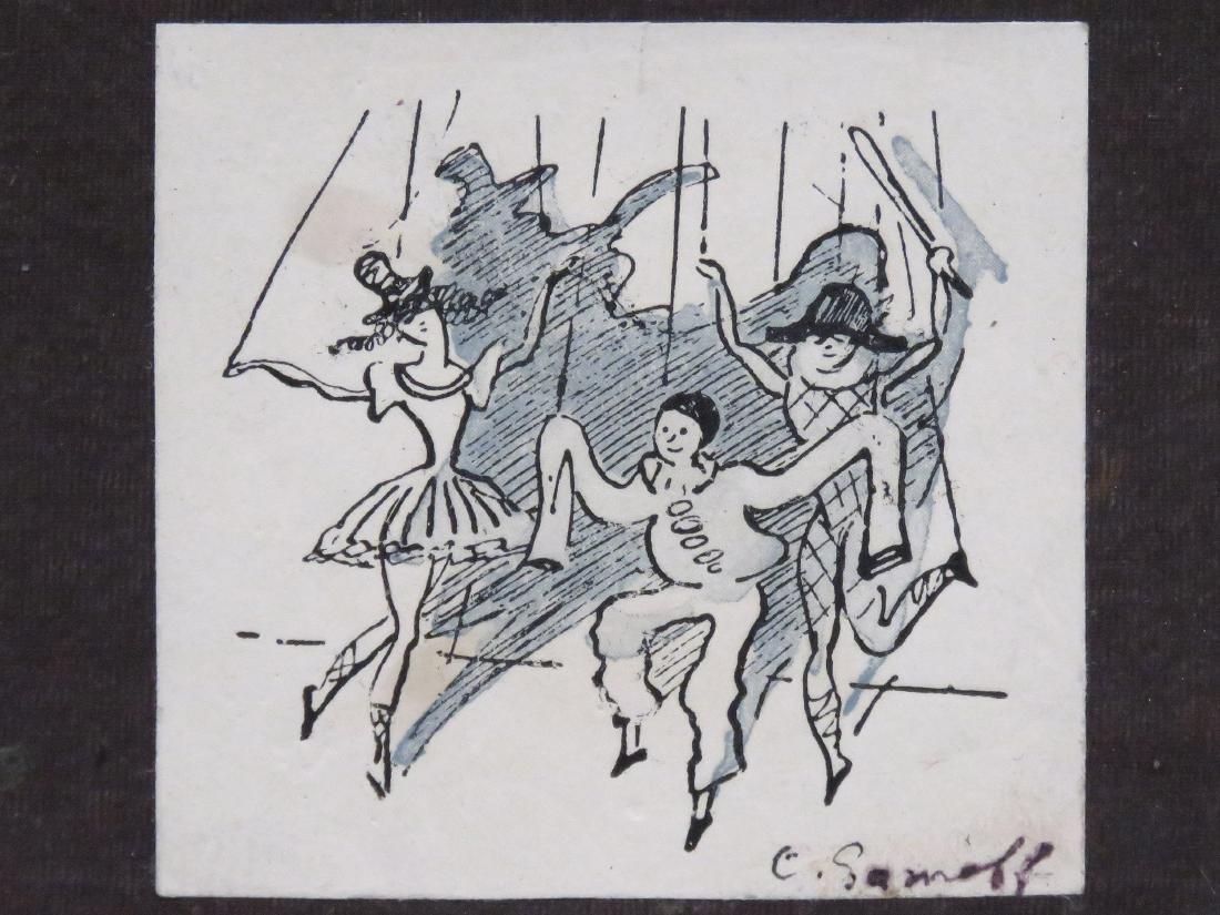 KONSTANTIN ANDREENICH SOMOV (RUSSIAN 1869-1939), INK
