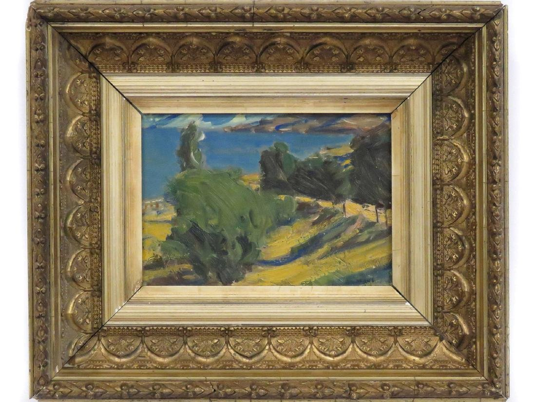 ARMENIAN SCHOOL (20TH CENTURY), OIL ON ARTIST BOARD,