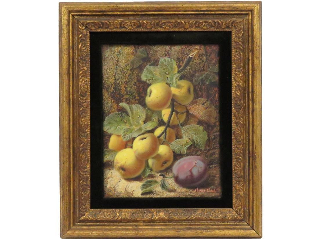 OLIVER CLARE (BRITISH 1853-1927), OIL ON ARTIST BOARD,