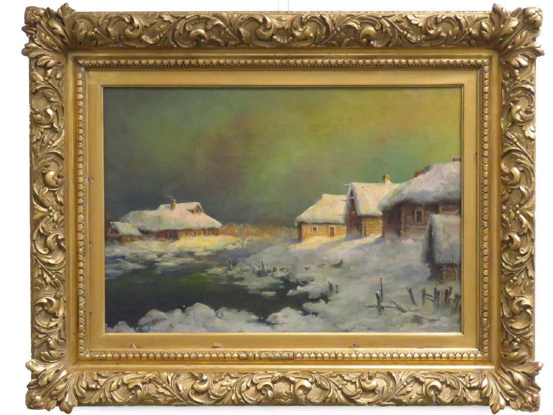 RUSSIAN SCHOOL (19/20TH CENTURY), OIL ON ARTIST BOARD,