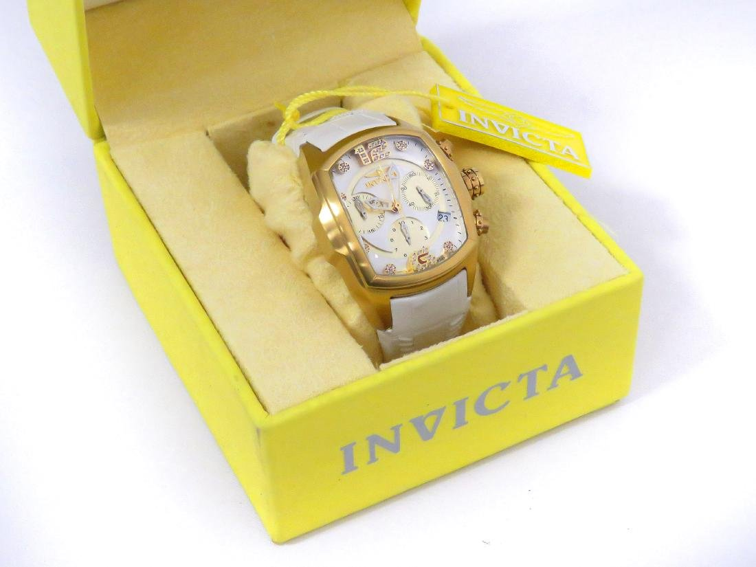 INVICTA REVOLUTION COLLECTION MODEL 6814 GOLD PLATED