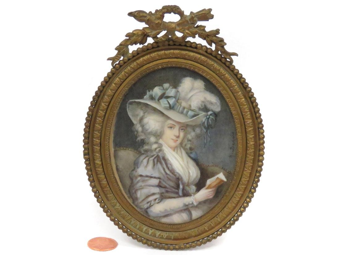 ENGLISH SCHOOL (19/20TH CENTURY), MINIATURE PORTRAIT OF