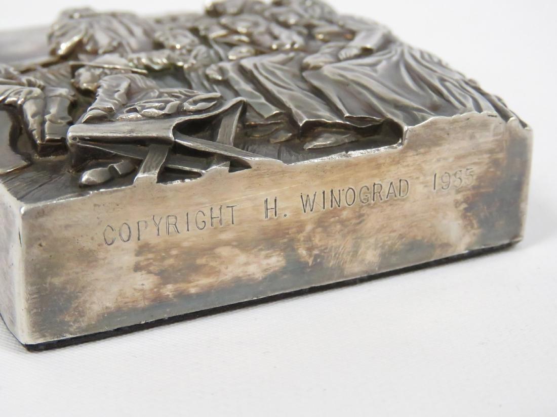 HENRYK WINOGRAD (POLISH/AMERICAN 1917-2008), STERLING - 3