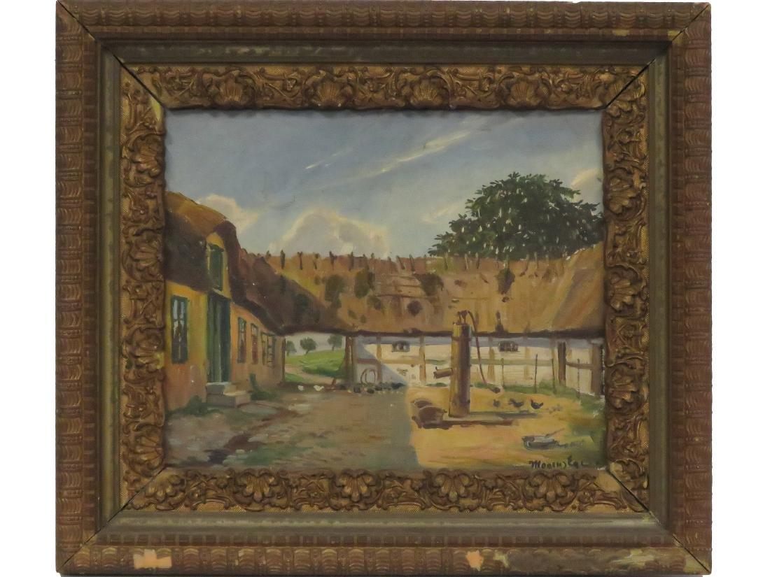 MOGENS EGE (DANISH/AMERICAN 1892-1946), OIL ON CANVAS