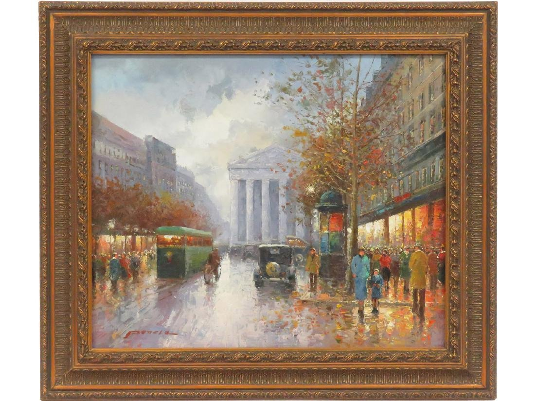 FRENCH SCHOOL (20TH CENTURY), OIL ON CANVAS, PARIS