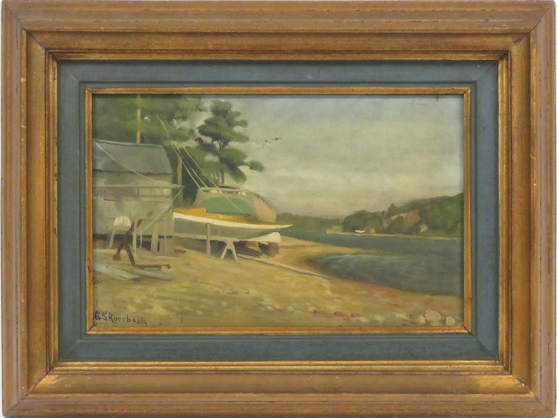 GEORGE SELDON ROORBACH (AMERICAN 1860-1930), OIL ON