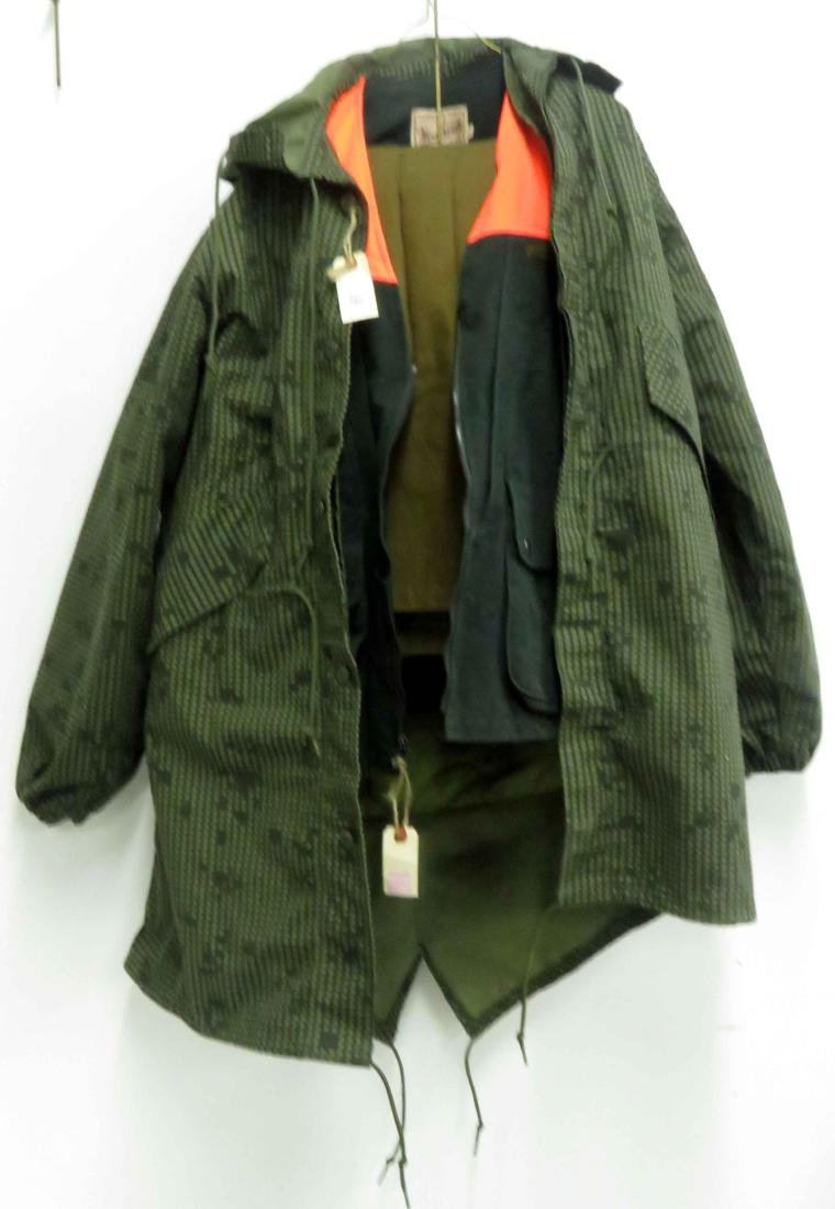 LOT (3) INCLUDING ARMY FLIGHT PANTS, WOOLRICH DENIM