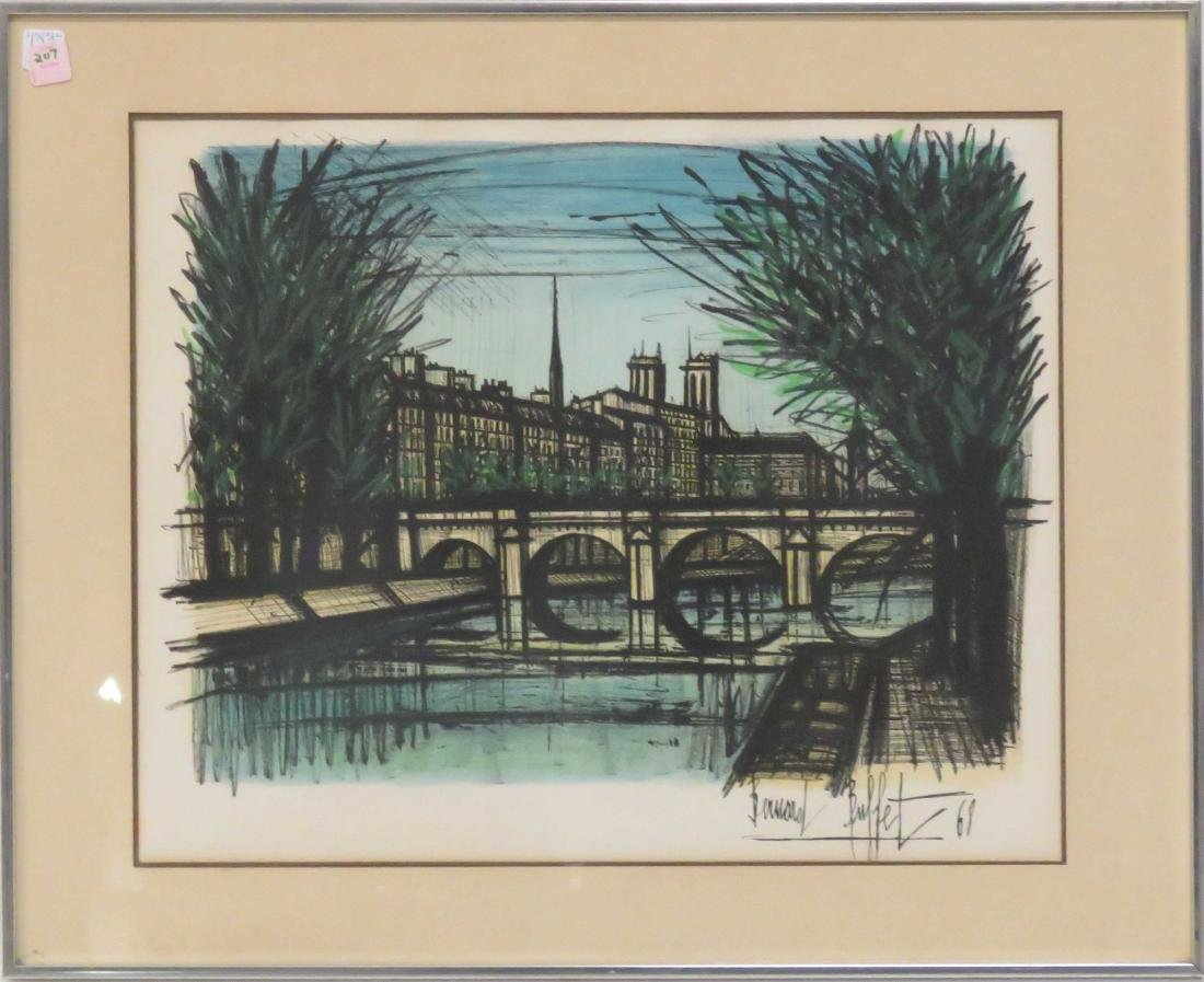 AFTER BERNARD BUFFET (FRENCH 1928-1999), LITHOGRAPH, LE