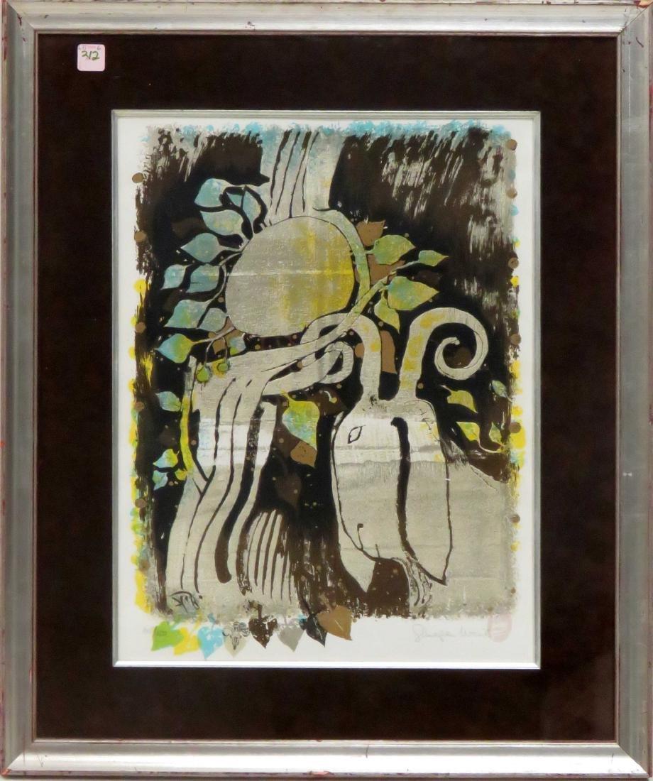 SHRAGA WEIL (ISRAELI 1918-2009), LITHOGRAPH, UNTITLED,