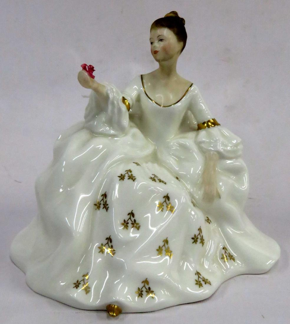 "ROYAL DOULTON FIGURE, ""MY LOVE"", HN 2339. HEIGHT 7"""