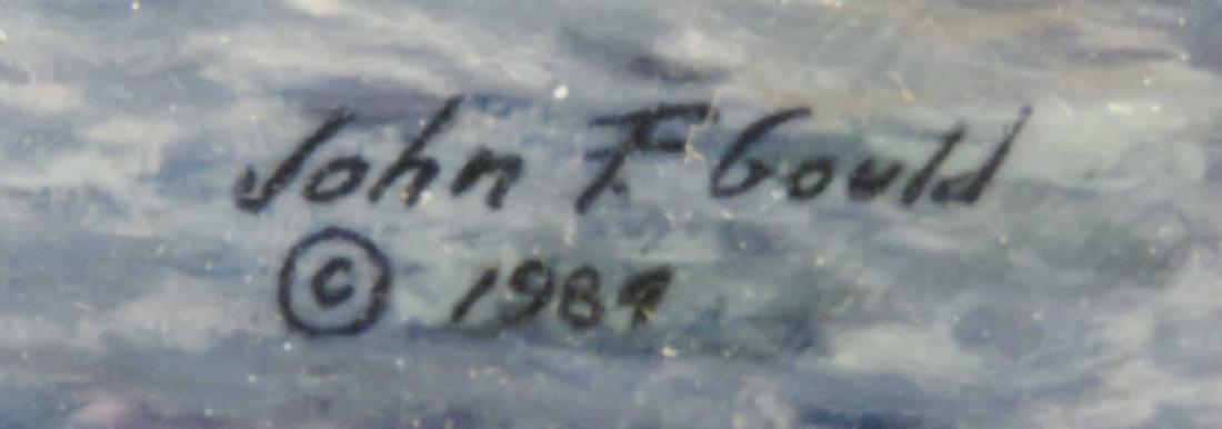 "JOHN FLEMMING GOULD (AMERICAN ), PRINT, ""THE ALEXANDER - 3"