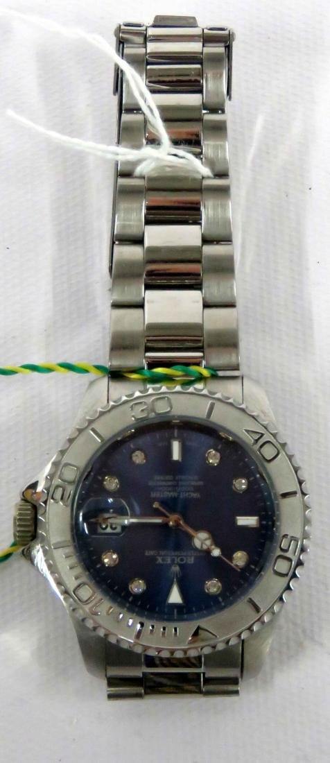 REPLICA STAINLESS YACHT MASTER OYSTER PERPETUAL DATE, - 2