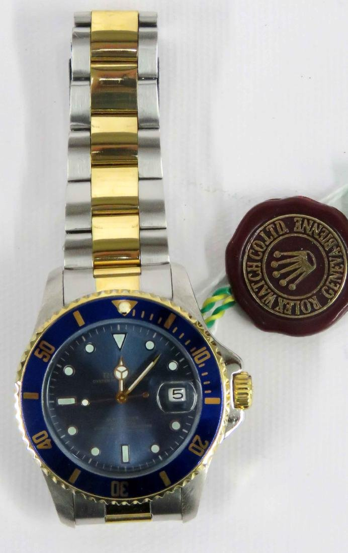 REPLICA STAINLESS SUBMARINER OYSTER PERPETUAL DATE,