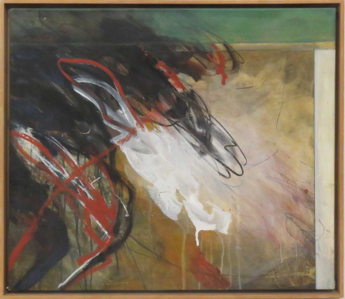 DOUG BIDEN (CANADIAN 1956-2007), OIL ON CANVAS,