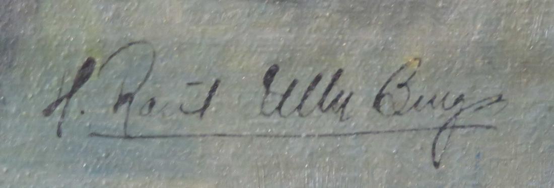 HECTOR RAUL ULLOA BURGOS (CHILE 1924-1994), OIL ON - 3