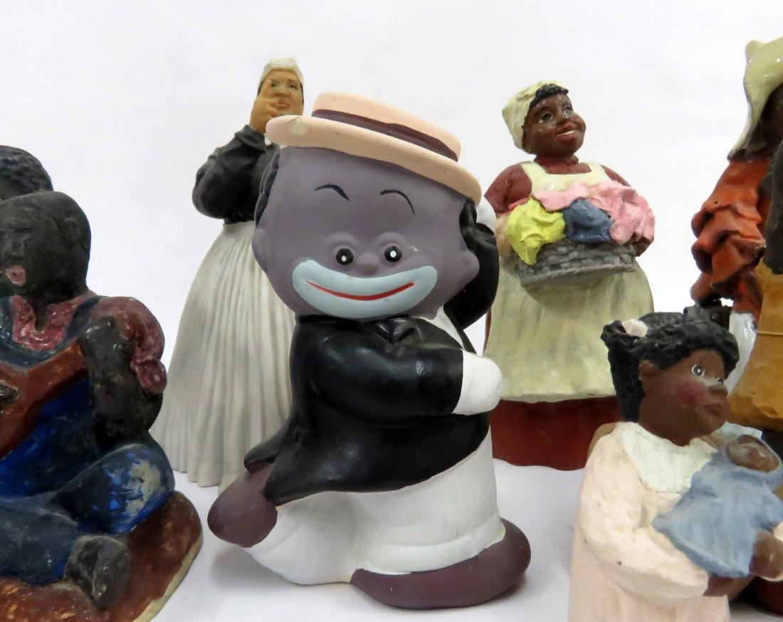 LOT (12) BLACK AMERICANA ASSORTED FIGURES INCLUDING THE - 2