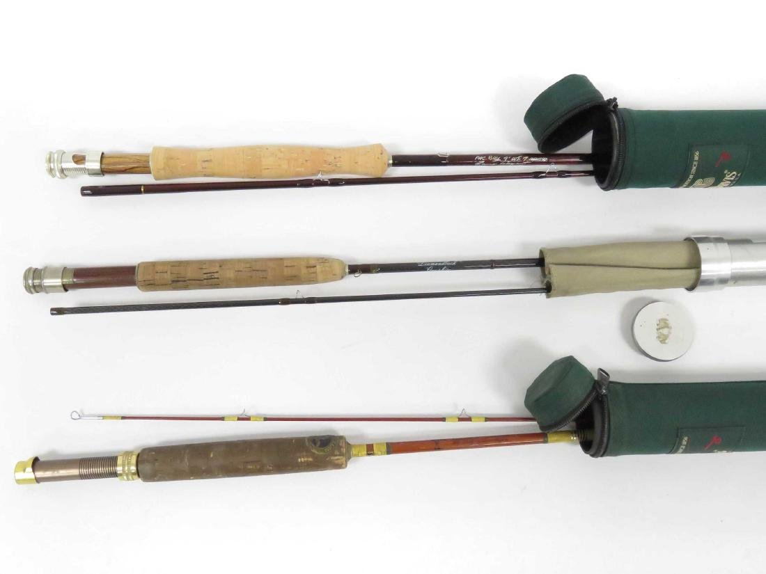 LOT (3) ASSORTED GRAPHITE FLY RODS INCLUDING 9' PACBOY;