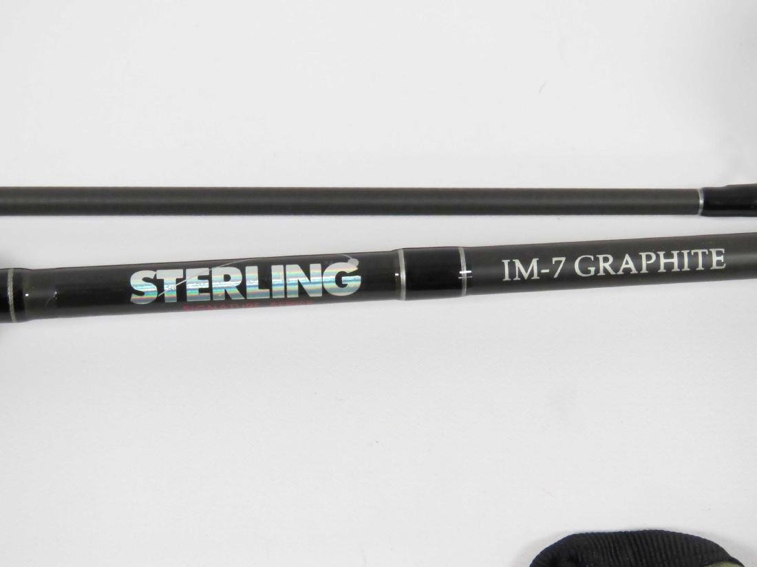 LOT (3) ASSORTED GRAPHITE FLY RODS INCLUDING 9' - 2