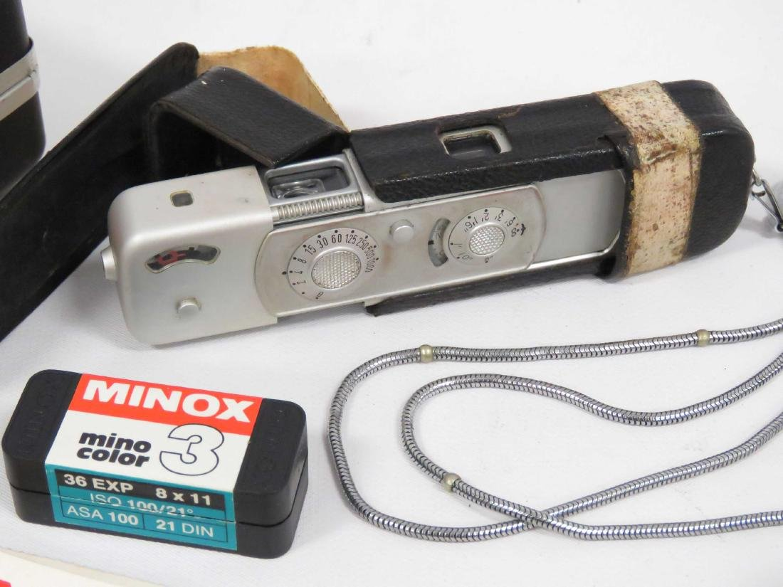 MINOX (GERMANY) BL SUB-MINIATURE CAMERA, CASED WITH - 2