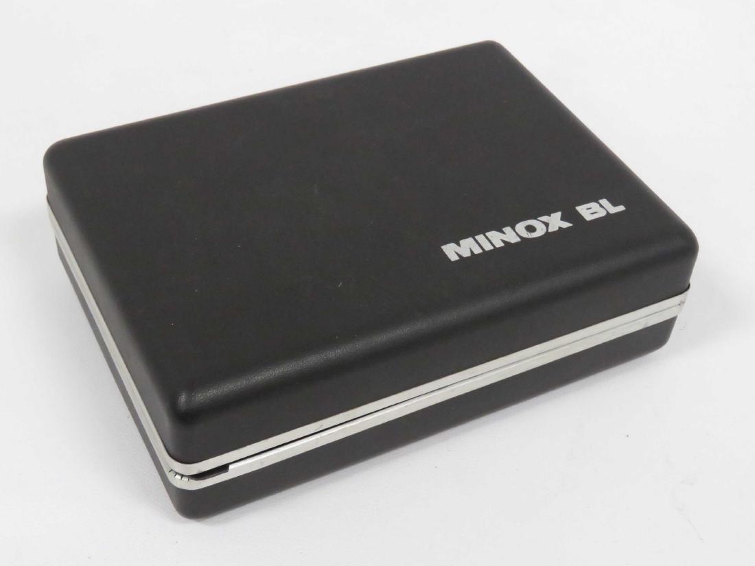MINOX (GERMANY) BL SUB-MINIATURE CAMERA, CASED WITH - 3
