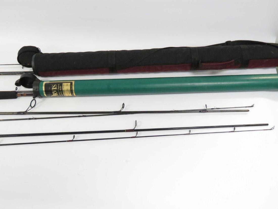 LOT (4) ASSORTED CASTING RODS INCLUDING BROWNING 9' - 2