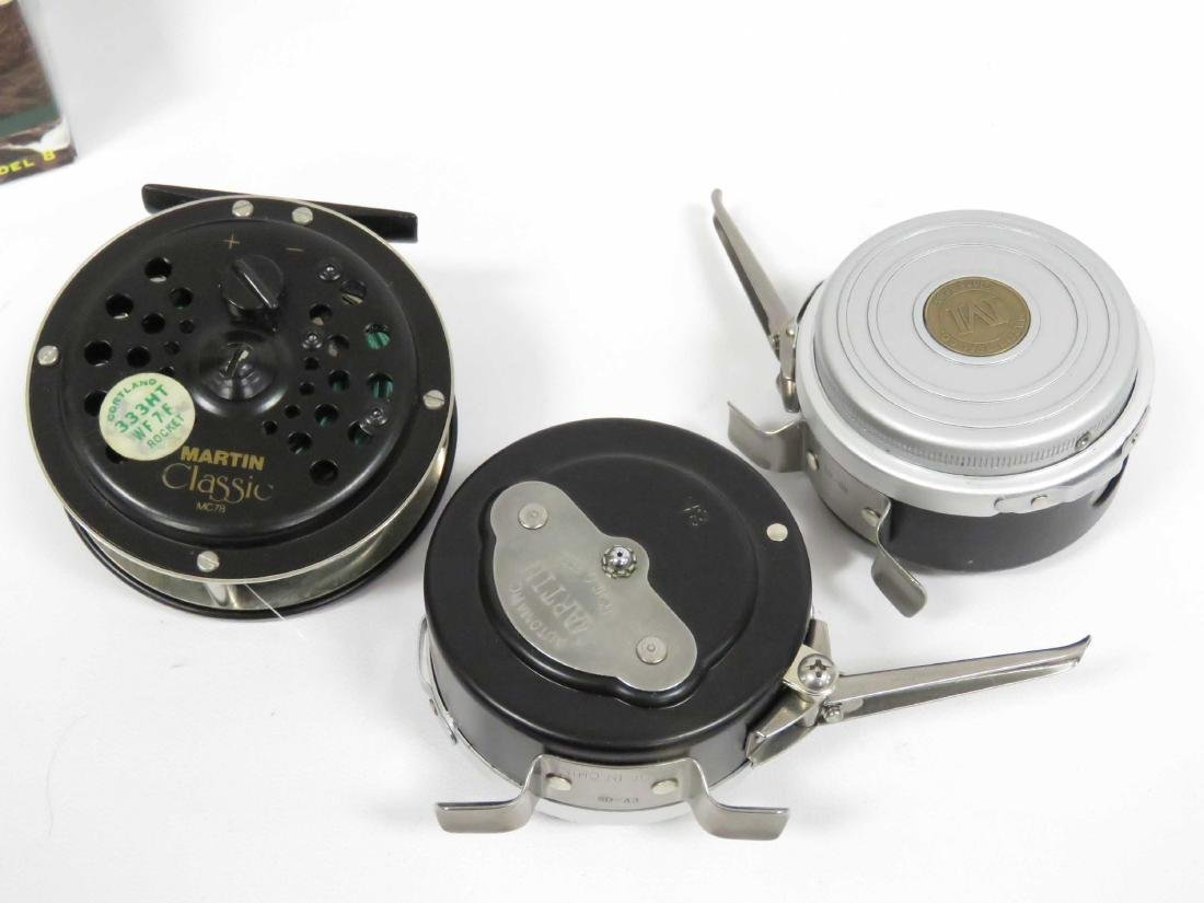 LOT (3) MARTIN FLY REELS, BOXED/CASE - 2