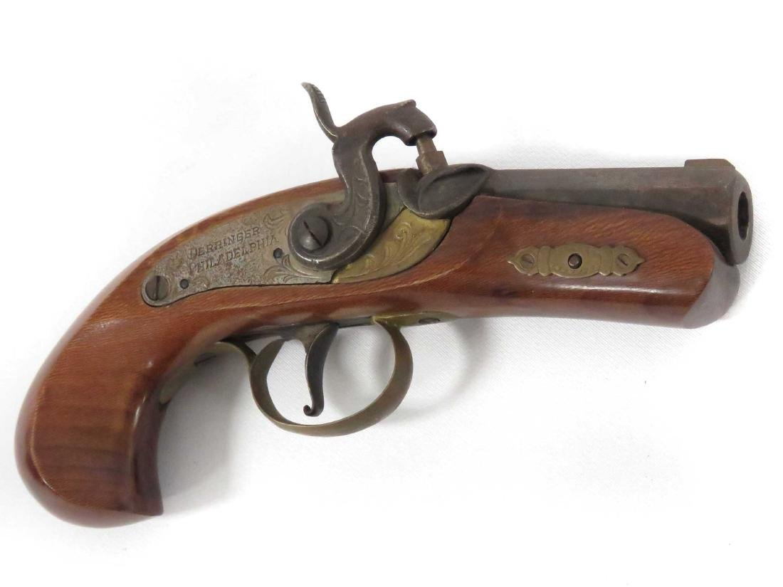 PHILADELPHIA BLACK POWDER 45 CAL PERCUSSION DERRINGER,