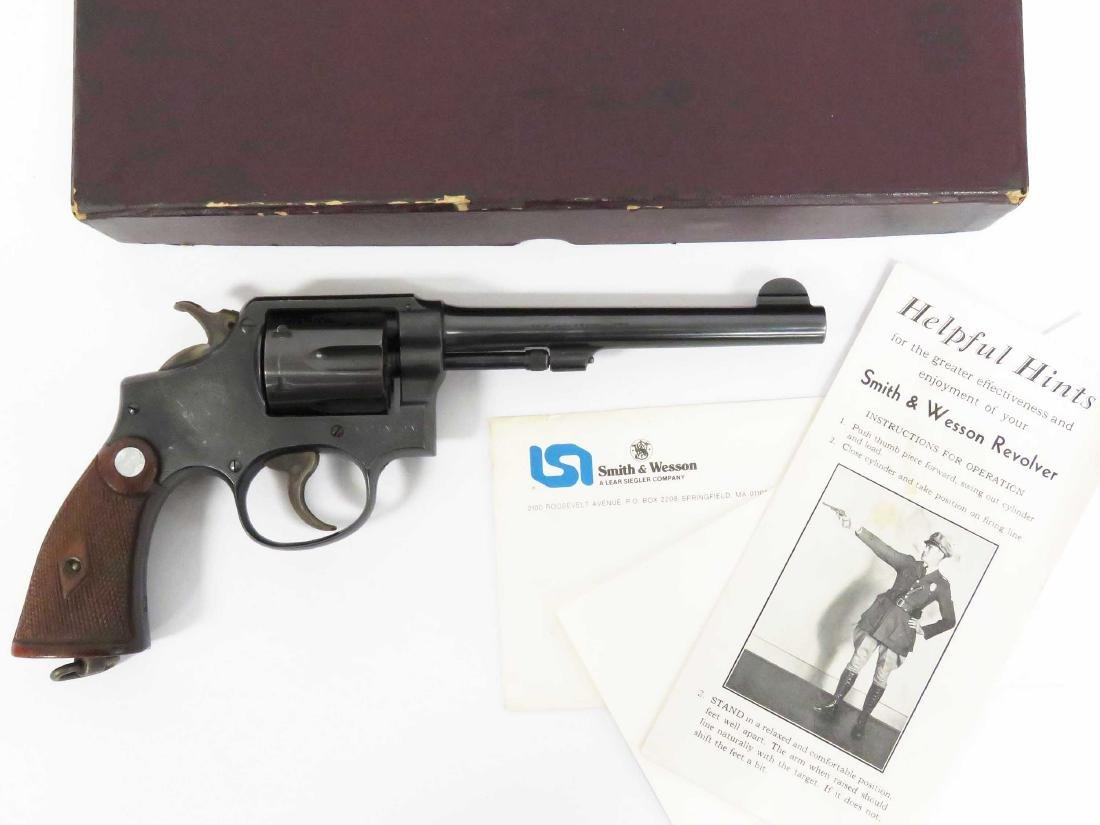 **RESTRICTED** SMITH & WESSON HAND EJECTOR, MILITARY &