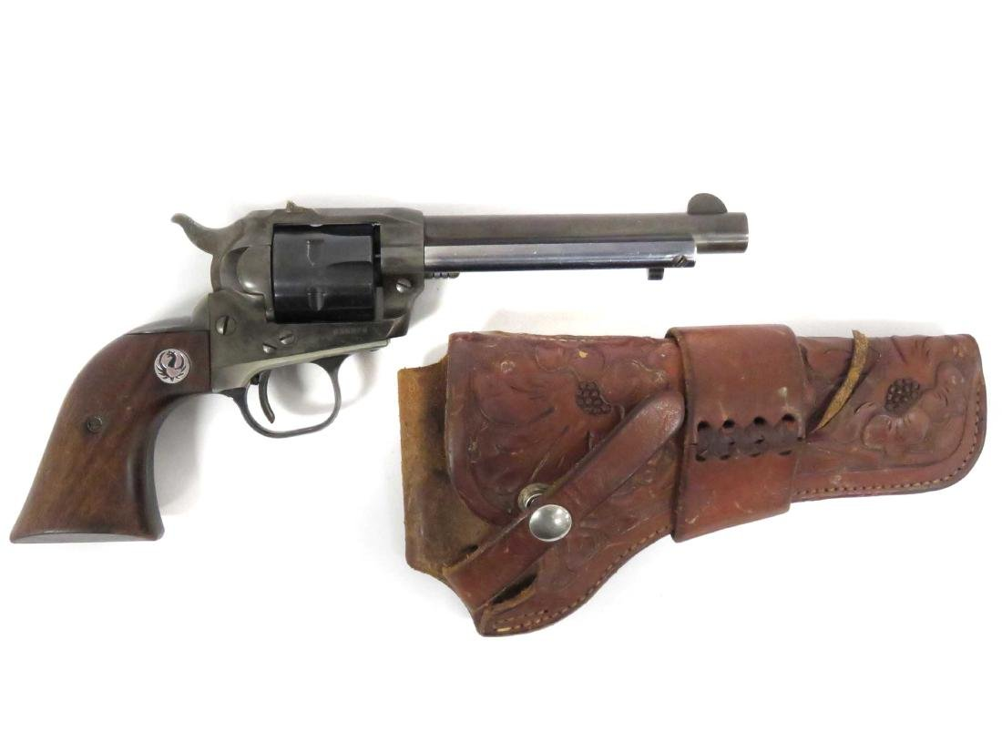 **RESTRICTED** STURM RUGER SINGLE SIX .22 CAL REVOLVER,